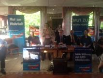 Wahlkampf in Stotel 2014