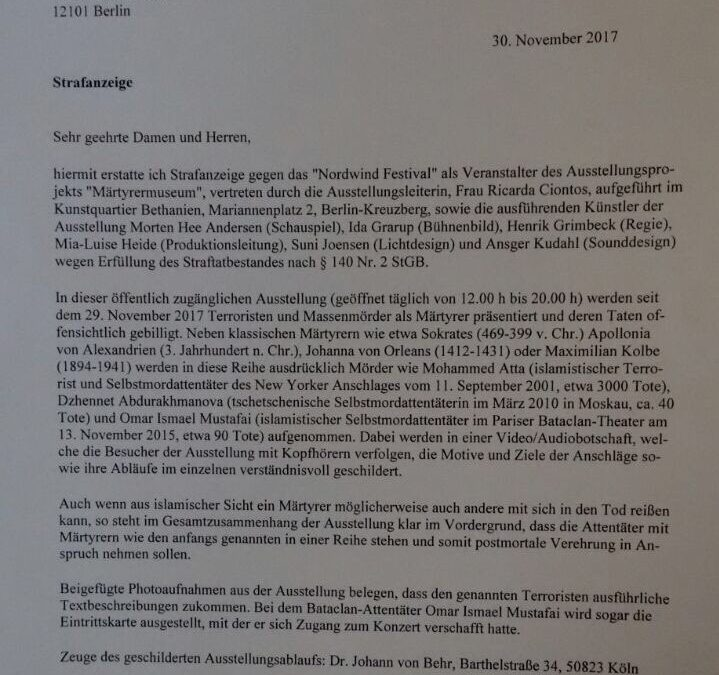 Bericht aus dem Bundestag – 01.12.2017